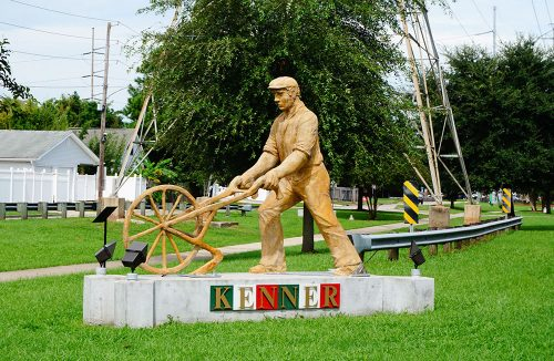 City of Kenner statue