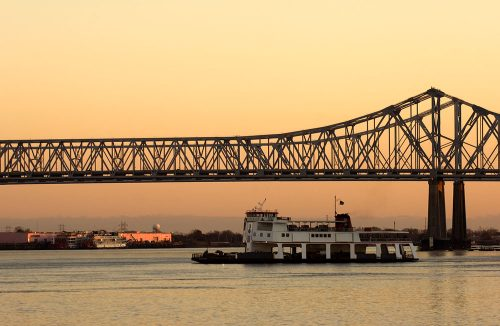 Crescent cIty connection bridge
